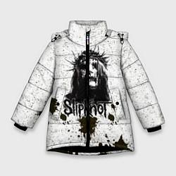Куртка зимняя для девочки Slipknot Demon цвета 3D-черный — фото 1
