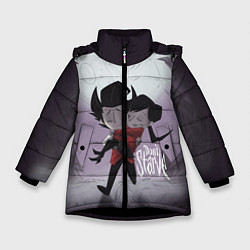 Куртка зимняя для девочки Don't Starve: Love - фото 1