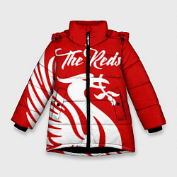 Куртка зимняя для девочки The Reds цвета 3D-черный — фото 1