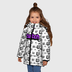 Куртка зимняя для девочки Twitch Online - фото 2