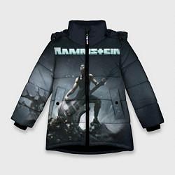 Куртка зимняя для девочки Rammstein цвета 3D-черный — фото 1