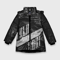 Куртка зимняя для девочки Trea Sure Ateez цвета 3D-черный — фото 1