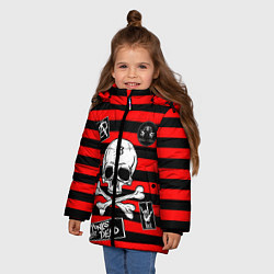 Куртка зимняя для девочки КиШ КНЯЗЬ цвета 3D-черный — фото 2