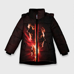 Куртка зимняя для девочки Join The Hunt цвета 3D-черный — фото 1