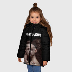 Куртка зимняя для девочки Die Antwoord House of zef цвета 3D-черный — фото 2