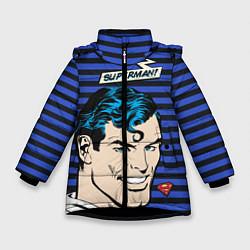 Куртка зимняя для девочки Superman! - фото 1