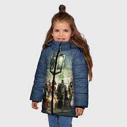 Куртка зимняя для девочки 2610535 цвета 3D-черный — фото 2