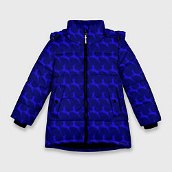 Куртка зимняя для девочки Олени, deer цвета 3D-черный — фото 1