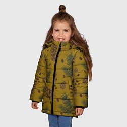 Куртка зимняя для девочки Сибирские шишки - фото 2