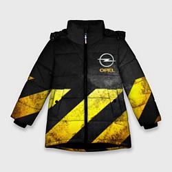 Куртка зимняя для девочки OPEL S цвета 3D-черный — фото 1