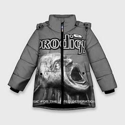 Куртка зимняя для девочки The Prodigy: Madness цвета 3D-черный — фото 1