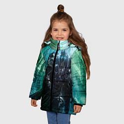 Куртка зимняя для девочки Король Лич цвета 3D-черный — фото 2