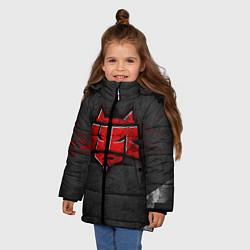 Куртка зимняя для девочки Hellraisers цвета 3D-черный — фото 2