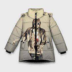 Куртка зимняя для девочки Kurt Art цвета 3D-черный — фото 1