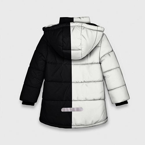 Зимняя куртка для девочки Eminem: Black & White / 3D-Черный – фото 2