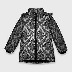 Зимняя куртка для девочки Гламурный узор