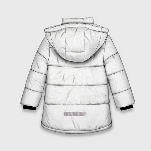Зимняя куртка для девочки KISS: Adult spaceman wig / 3D-Черный – фото 2