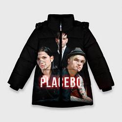 Куртка зимняя для девочки Placebo Guys цвета 3D-черный — фото 1