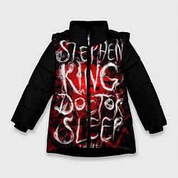 Детская зимняя куртка для девочки с принтом Doctor Sleep, цвет: 3D-черный, артикул: 10095789806065 — фото 1