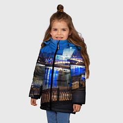 Куртка зимняя для девочки Москва цвета 3D-черный — фото 2