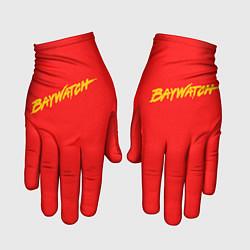 Перчатки Baywatch цвета 3D — фото 1