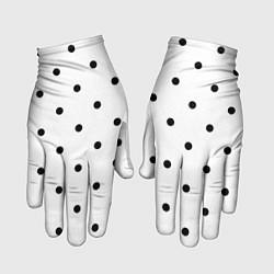 Перчатки Горошек цвета 3D — фото 1