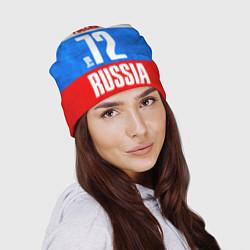 Шапка Russia: from 72 цвета 3D-принт — фото 2