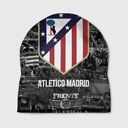 Шапка Атлетико Мадрид цвета 3D-принт — фото 1