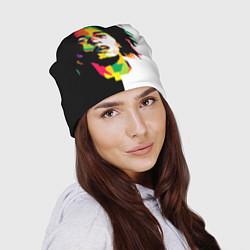 Шапка Bob Marley: Colors цвета 3D — фото 2