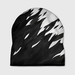 Шапка Black & white цвета 3D — фото 1
