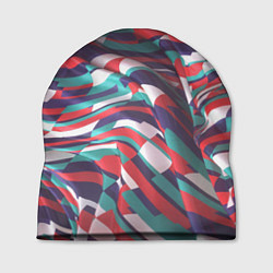 Шапка Трехмерная абстракция цвета 3D — фото 1