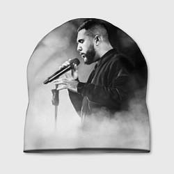 Шапка Jah Khalib: Black mist цвета 3D-принт — фото 1