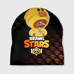 Шапка BRAWL STARS SALLY LEON цвета 3D-принт — фото 1