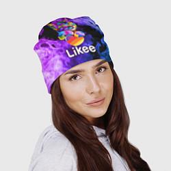 Шапка Likee LIKE Video цвета 3D — фото 2