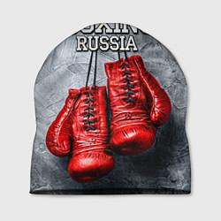 Шапка Boxing Russia цвета 3D-принт — фото 1