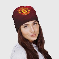Шапка Манчестер Юнайтед цвета 3D — фото 2