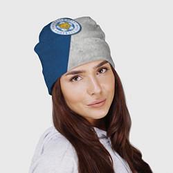 Шапка Leicester City FC цвета 3D-принт — фото 2