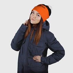 Шапка с помпоном Orange Is the New Black цвета 3D-белый — фото 2