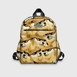 Детский рюкзак Doge: Deal with it цвета 3D-принт — фото 1