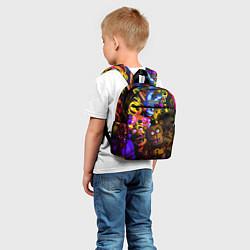 Детский рюкзак Five Nights At Freddy's цвета 3D-принт — фото 2