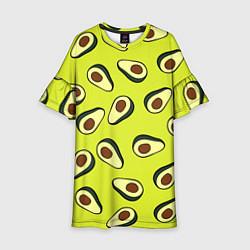 Детское платье Стиль авокадо