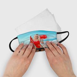 Маска для лица детская Baywatch: Pamela Anderson цвета 3D — фото 2
