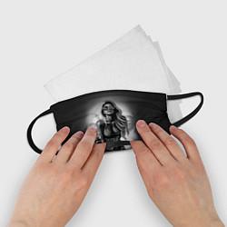 Маска для лица детская Trap Girl цвета 3D — фото 2