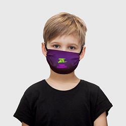 Маска для лица детская ATL цвета 3D — фото 1