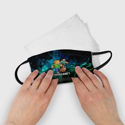 Маска для лица детская Minecraft Майнкрафт цвета 3D — фото 2