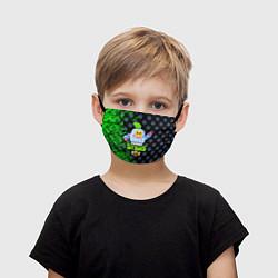 Маска для лица детская BRAWL STARS SPROUT цвета 3D — фото 1