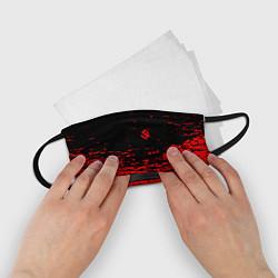 Маска для лица детская Sabaton цвета 3D-принт — фото 2