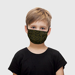 Маска для лица детская Nirvana Pattern цвета 3D-принт — фото 1