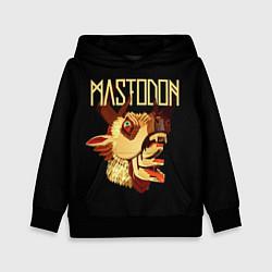 Толстовка-худи детская Mastodon: Leviathan цвета 3D-черный — фото 1