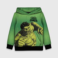 Толстовка-худи детская Hulk цвета 3D-черный — фото 1